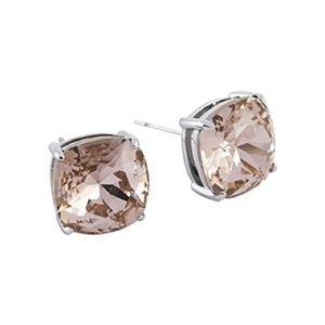 Origami Owl Vintage Rose Crystal earrings